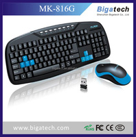 2016 The cheapest 2.4G wireless keyboard and mouse combo