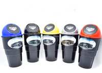 Novelty mini plastic car trash can for car