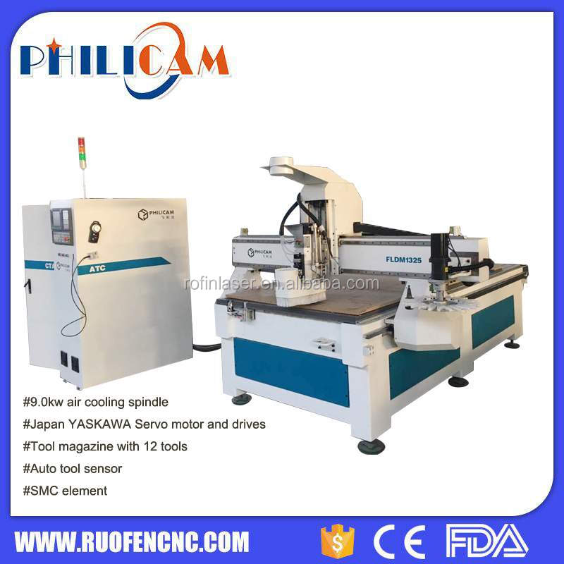 used wood cabinet doors cnc router machine