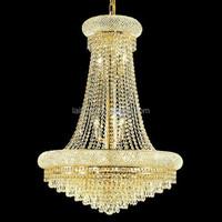 Designer Lamps Gold K9 Crystal Chandeliers for Hallways 71022