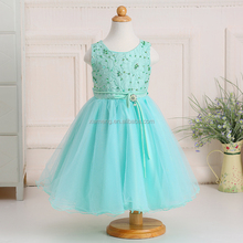 Wholesale 2016 new arrival elegant teenage kids cotton frocks design