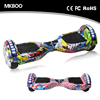 2017 dropshipping 2 Wheel Smart Balance Hoverboard Electric Scooter With Bluetooth Speaker Striip Lght Kick Scooter