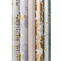 GIFT DECORATIVE METALLIC WRAPPING PAPER ROLL