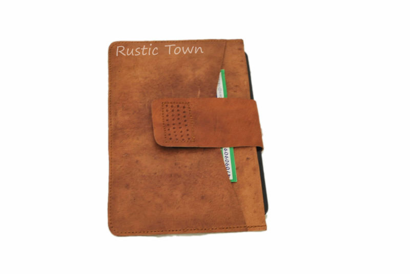 High quality and antique leather covers and cases for tablets