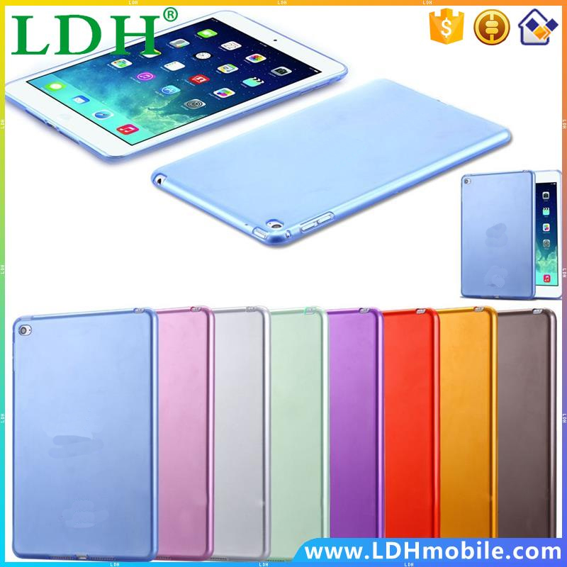 For Apple iPad Mini 4 Ultra Thin Soft Silicone Case Transparent Clear Case For iPad Mini 4 Tablet Fashion Crystal Flexible Cover