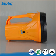 zhongshan best price ABS plastic led Charge Hand Torch Light