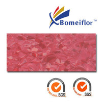 Hospital Use Anti-bacterial Bomeiflor Non-directional Homogeneous Vinyl Sheet Flooring BM3023