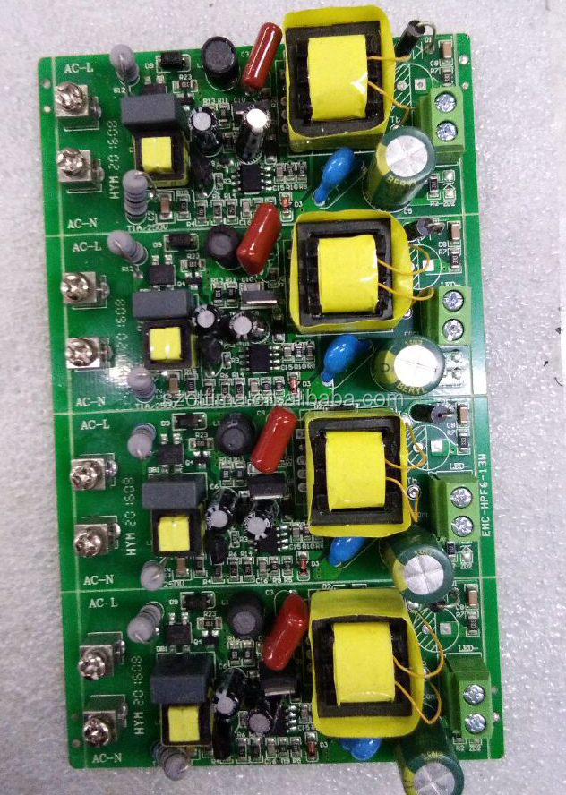 24v 350ma power supply 9W 12W gu10 dimmable driver constant current high efficiency pcb