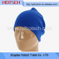 Popular and hot knitted long beanie hat