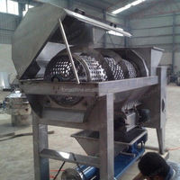 Stainless steel easy operation grape seed oil press machine