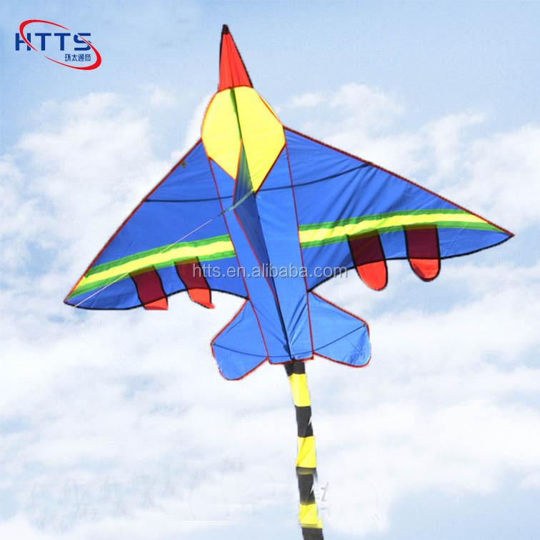 Outdoor Fun Sports New Airplane Fighter Kite Flying Children Toys