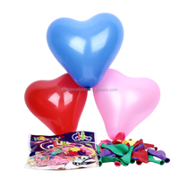 2016 China wholesale heart shape party inflatable balloon