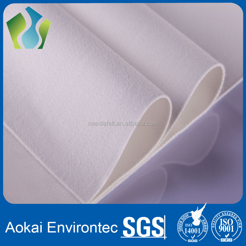 Chinese supplier Water and oil repellent polyester filter fabric