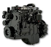 4 cylinder 4.9L cheap price diesel engine assembly 100hp 4BTA3.9-C100 construction machinery engine