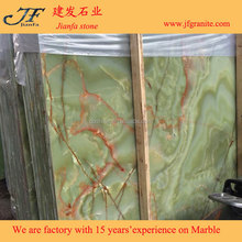 Hot Sale Wonderful Marble Slab Emerald Green Onyx Price