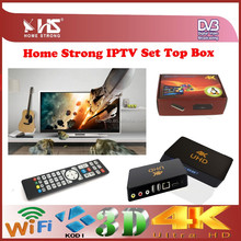 home strong high end 4k iptv set topbox android hs8 iptv set top box
