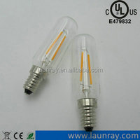 New Design T8 Incandescent lamp Freezer Appliance Bulb T8 Led Filament Bulb 2W 4W 6W Dimmable Lamp