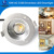 factory price alibaba express triac dimmable driverless 90MM 10w led COB downlight
