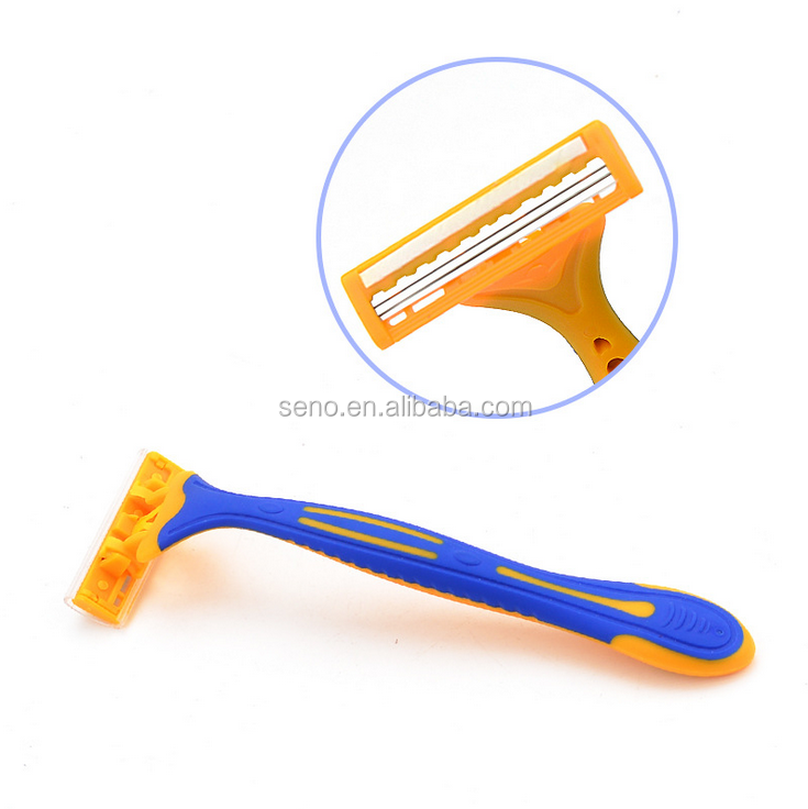 triple blade disposable razors barber supplies razor razor 3 blades
