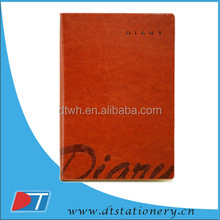 2014 agenda pu leather notebook