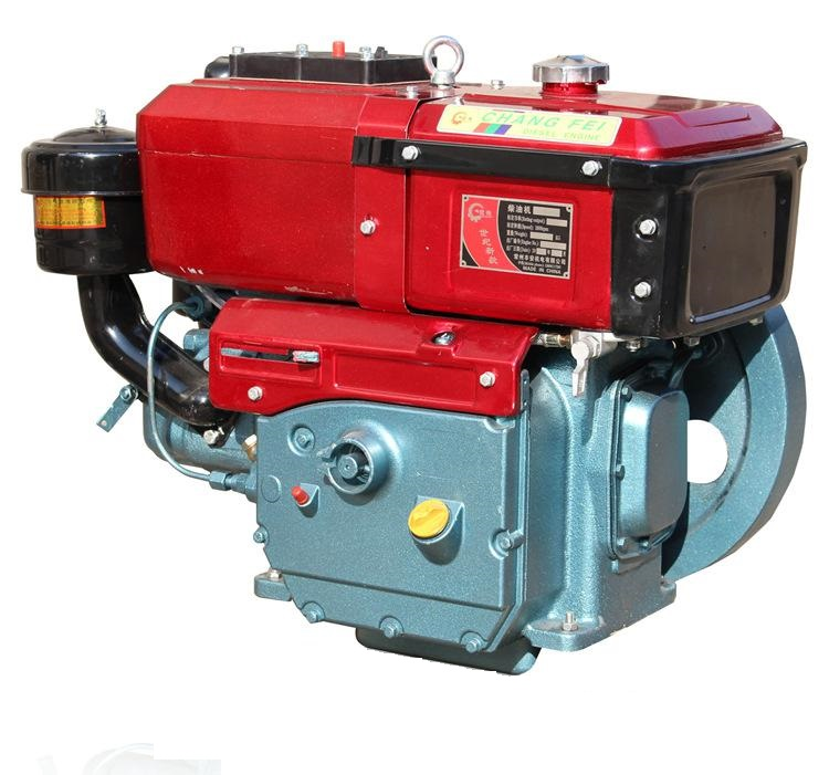 Singel cylinder water cooled 10hp diesel engine R190