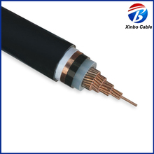 PVC sheathed electric power wire cable xlpe 11kv power cable price
