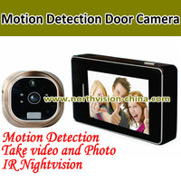 ND-1009 3.0 inch Motion Detection Peephole Camera with IR night vision function