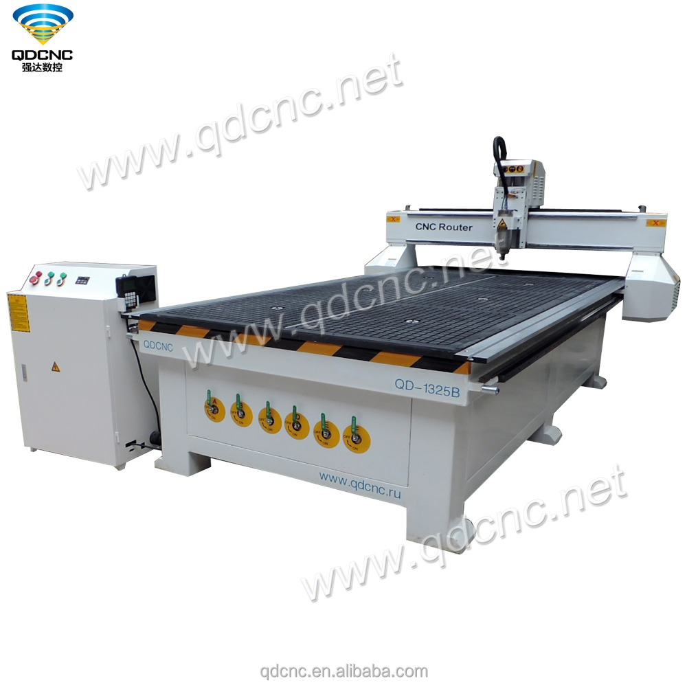 china top quality 1325 cnc wood carving machine QD-1325B cnc router made in China