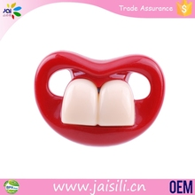Wholesale Teether Chew Toys Funny Silicone Adult Baby Pacifier