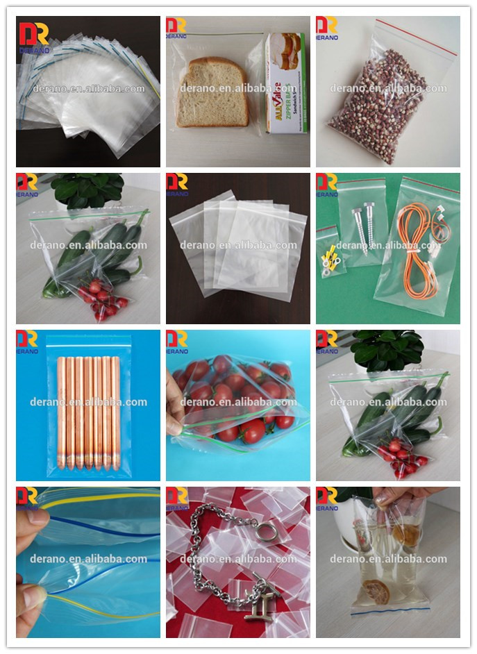 High quality LDPE resealable heavy duty ldpe waterproof zip top bag