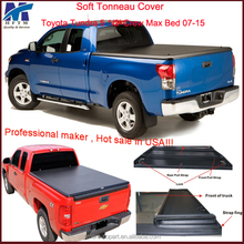 Toyota Tundra 5 1/2' Crew Max Bed retractable vinyl truck covers