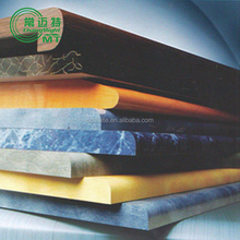 decorative high-pressure laminate /prttey and design high gloss MDF sheets / board wholesales