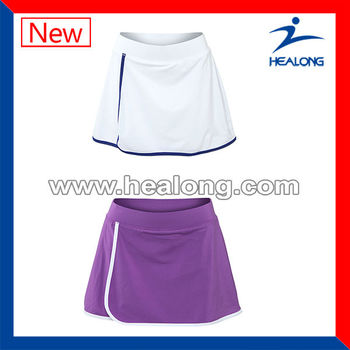 Sublimation Printing Tennis Skirt For Wholesale Design