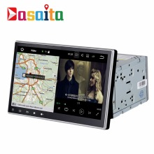 "DASAITA 10.2"" Quad Core android 7.1 2 din Universal car stereo GPS navigation multimedia with DVD loader"