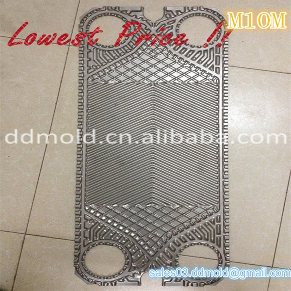 SS316 Titanium plate for Alfa Laval M10M plate heat exchanger