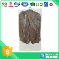 ldpe clear custom printed laundry plastic bag in roll