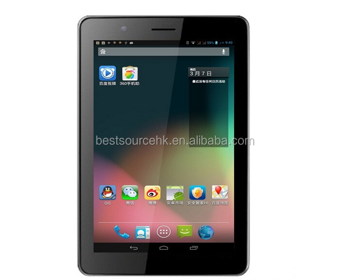 Smart Android 4.2 MTK8382 Dual Sim Card 7 Inch Android Easy Touch Tablet