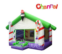 Fantasy theme warm castle jumping bouncy games