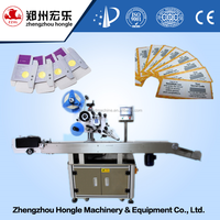 LOWEST PRICE automatic feeder bag labeling machine,card/paper sticker label machine sachet labeler