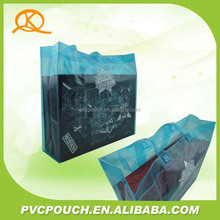 Factory direct sale custom PVC plastic recycle Shopping carry bags