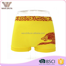 Fashion animal print patterns nylon tight seamless wholesale mens boxer underpants