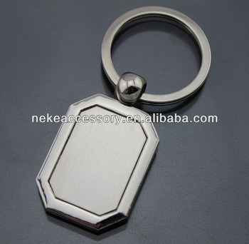 new arrival promotional blank Metal Keychain