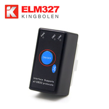 High quality very cheap Mini ELM327 V1.5 bluetooth scanner FREE obd2 software elm327 Car Diagnostic Tool