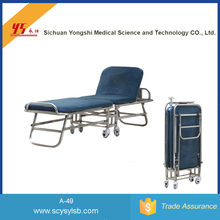 Good Quality Metal Hotel Rollaway Folding Extra Bed for sale