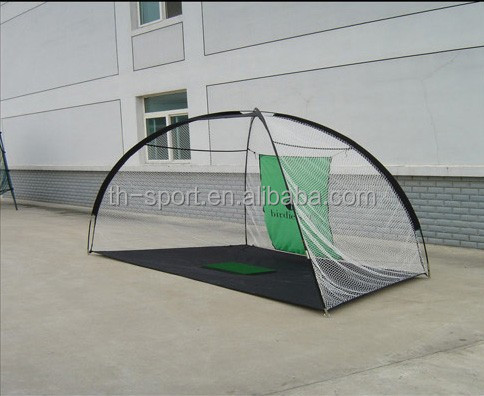 Green Golf Practice Net And Cage Cricket Practice Nets