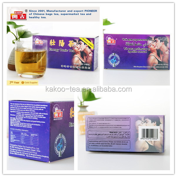 Energy Tonic Tea for prostate and male Sex tea OEM service health herbal tea