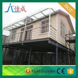 small mobile movable 1 bedroom manufactured homes made in China