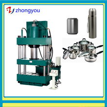 stainless steel deep drawing hydraulic press container making