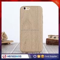 Mobile phone accessories soft wood phone case for iphone