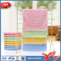 100 Bamboo Small Face Towel Personalized, Plain Dyed baby Towel